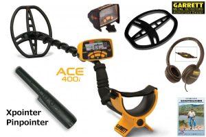Garrett ACE 400i Metalldetektor Ausrüstungspaket