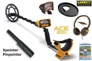 Garrett ACE 300i Metalldetektor Ausrüstungspaket