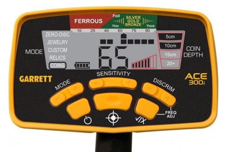 Garrett ACE 300i+ Metalldetektor & Pinpointer PRO-Pointer II