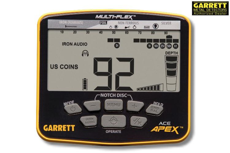 Garrett ACE APEX Metalldetektor